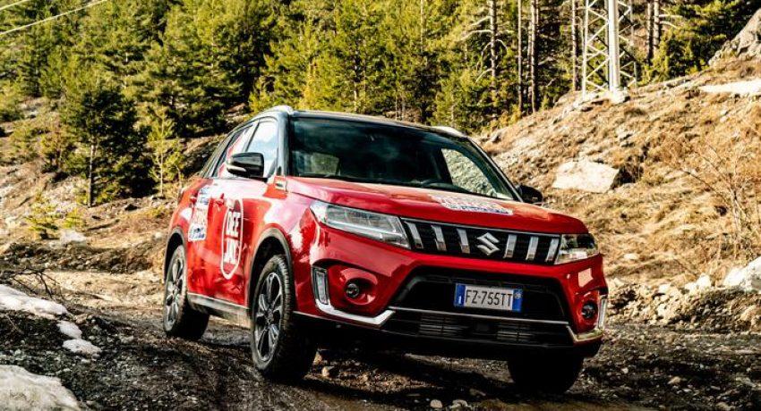 Suzuki: la gamma Hybrid all grip sulle piste di Prato Nevoso